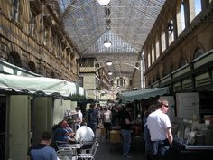 One of my most favorite places in Bristol - Glass Arcade off Corn Street.  Bloody brilliant.