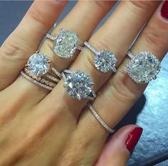 Engagement rings ❤️ pick your favorite
