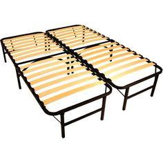 Spa Sensations By Zinus Steel Smartbase Bed Frame Black