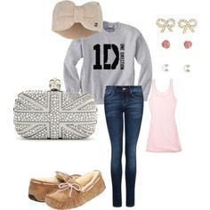 Perfect 1D sexy sweater outfit