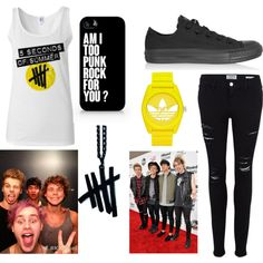 """""""5sos"""" by amaya173 on Polyvore 5sos Inspired Outfits, 5sos Outfits, Cute Outfits, 5sos Concert, 5sos Preferences, Band Merch, Future Fashion, 5 Seconds Of Summer, Hot Boys"""