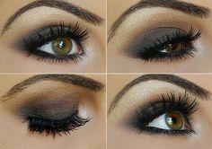 Step by Step Smokey Taupe Eye shadow Tutorial!