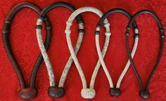 Rawhide & Kangaroo bosals, Martin Black horsemanship...wish list!