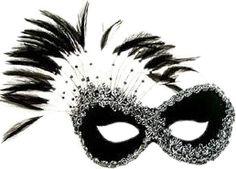 boska maska karnawałowa