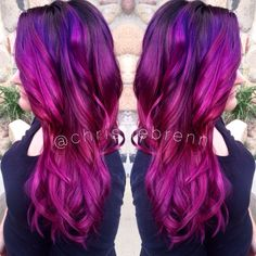 Creative color by Christie Brenn at The Beehive Salon in Fort Wayne. Follow her on Instagram for more color creations! @christiebrenn