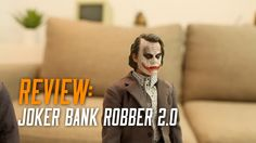 Review: Hot toys 1/6 Scale Joker Bank Robber 2.0 Virtual Reality Videos, Bank Robber, Scale, Joker, Toys, Movie Posters, Weighing Scale, Film Poster, Film Posters