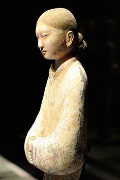 Western Han Dynasty - tomb figure