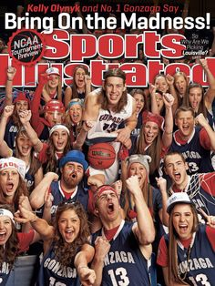 Does it get better than this?  Gonzaga's Kelly Olynyk and fans are featured on one of the regional covers of this week's Sports Illustrated!!  Let's get to the Final Four boys!! #GoZags