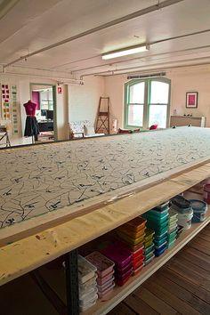 Ink & Spindle hand screen printing studio