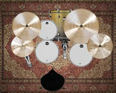 Drums from above