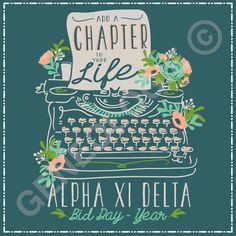 Add a chapter to your life. Geneologie | Greek Tee Shirts | Greek Tanks | Custom…