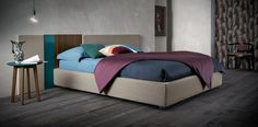 Square #letto #bed #letto in legno #letto imbottito #wooden bed #padded bed