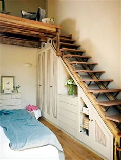 21 Genius Loft Stair for Tiny House Ideas