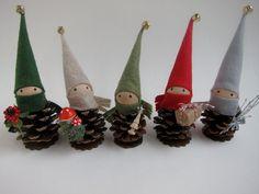 15 creazioni natalizie da realizzare con le pigne | Fai da Te Creativo