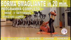 Allenamento HIIT in forma in 5 mesi in 20 Minuti 3° MESE  - 3° SETTIMANA 20 Min, Hiit, Gym Equipment, Sports, Shape, Hs Sports, Excercise, Workout Equipment, Sport