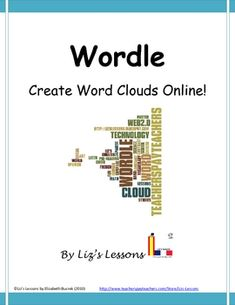 """$ Wordle is a great and extremely simple resource that can be used across content areas! This document comes with ideas for using Wordle in your class, and student/teacher directions with screen shots from the website for easy use. It is a website """"for generating clouds from text that you provide."""