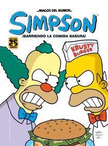 Homer Simpson ha conseguido una franquicia de la cadena Krustyburger. Sin pensárselo dos veces, deja su trabajo para dedicarse de lleno a su nuevo negocio, lo que alegra a Bart pero no a Lisa, que está en contra de la comida basura. Desgraciadamente, a Homer las cosas no le irán como pensaba... http://rabel.jcyl.es/cgi-bin/abnetopac?SUBC=BPSO&ACC=DOSEARCH&xsqf99=1745372