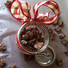 "Chocolate Almond ""Puppy Chow"""