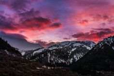 Winter's dawn by KONSTANTINOS BASILAKAKOS on 500px Dusk, Amazing Photography, Mount Everest, I Am Awesome, Explore, Mountains, Silhouettes, Join, Travel