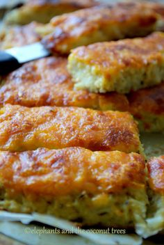 Cauliflower breadsticks (No flour) Unbelievably easy to make and really delicious !