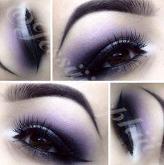 Beautiful purple eyeshadow! So soft