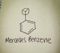#mercedes #chemistry #funny