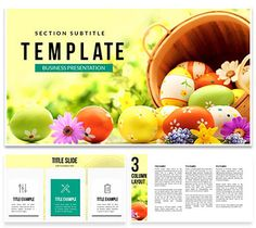 Easter Celebration Keynote Templates