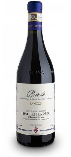 Barolo DOCG : Barolo Docg Manzoni 2010 - Fratelli Ferrero