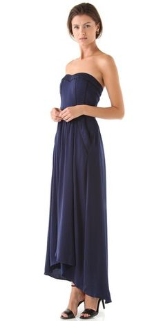 Rebecca Taylor Charm Me Gown not sold on the color but this would be a gorgeous bridesmaids dress!!!
