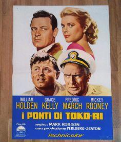 I PONTI DI TOKO RI fotobusta poster Grace Kelly William Holden The Bridges at