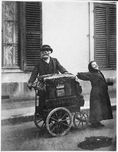 Street Musicians by Eugène Atget