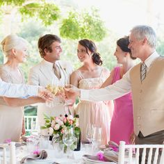Engagement Etiquette Tips for Brides - Father and Fiance