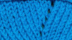 How to Knit The Yarn Over (YO) by New Stitch a Day - video