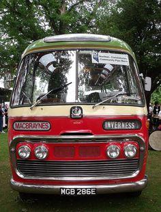 MacBraynes bus - 1967 Bedford coach MGB286E