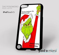 The Grinch Christmas for iPhone 4/4S, iPhone 5/5S, iPhone 5c, iPhone 6, iPhone 6 Plus, iPod 4, iPod 5, Samsung Galaxy S3, Galaxy S4, Galaxy S5, Galaxy S6, Samsung Galaxy Note 3, Galaxy Note 4, Phone Case