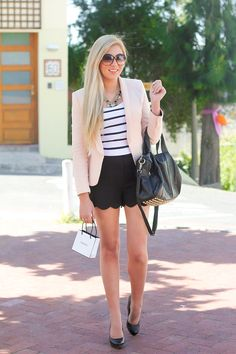 Replace shorts with longer skirt and it would be perfect
