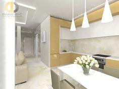 Кухня в стиле дизайна контемпорари по адресу МО, ул.Парковая, д.4, ЖК Суханово Парк фото 2016 года