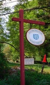 Stonington Vineyards in Stonington, CT  tours at 2pm every day.  $12 wine tasting.