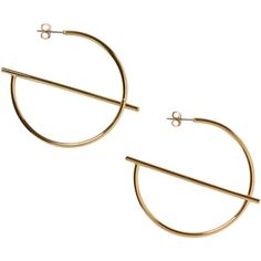 Monki Patricia earrings (25 BRL) ❤ liked on Polyvore featuring jewelry, earrings, accessories, goldy metallic, golden earring, earring jewelry, golden jewelry, metallic jewelry and monki