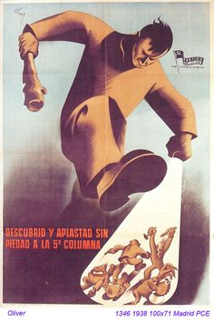 Spain - 1938. - GC - poster - autor: Amado Oliver