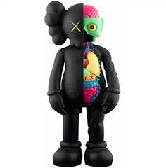 KAWS カウズ 玩具 キューブリック ベアブリック  巨大フィギュア 数量限定品 人気商品 ブラック