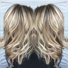 blonde highlights and lowlights - Google Search by suzette