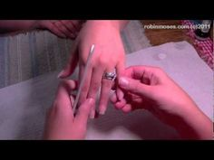 HOW To File Perfectly Shaped Nails. acrylic nail filing tutorial 444