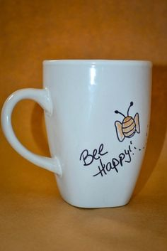 Bee+Happy+Mug