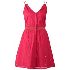 Pinkes Sommerkleid mit Punkten ab 59,95€ ♥ Hier kaufen: http://www.stylefru.it/s52715 #rosa #kleid