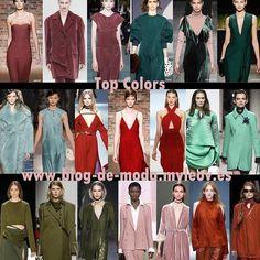 Nuevo post! Tendencias Moda :Top colors leer más en www.blog-de-moda.myleov.es #bloggers #BloggersBlast #tendencias #moda #colors #fallwinter #fashion #trends #blogmoda