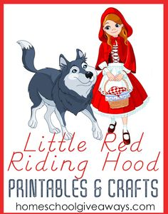 Little Red Riding Hood Printables and Crafts