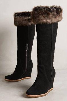 Tatum Wedge Boots by Splendid