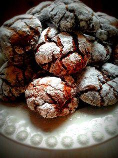 Crinkles de Chocolate