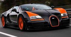 2013 Bugatti Veyron Grand Sport Vitesse WRC: 8.0 Liter W16 DOHC, 1001 horsepower.  0 to 60 mph in 2.7 seconds. Top Speed of 254 mph. Est. price $2,587,000.00
